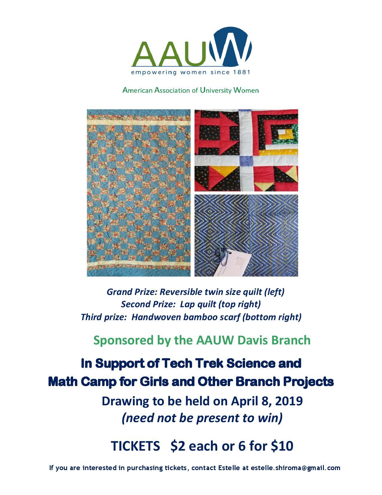 AAUW What We Do! | Davis (CA) Branch